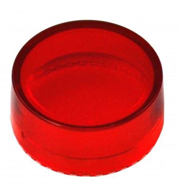 Druckhaube rund erhöht, rot