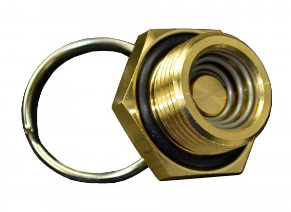 Entwässerungs Ventil m. O-Ring
