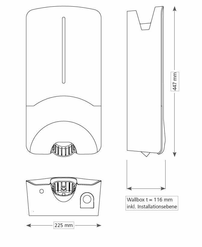 webasto pure home 11kw st4 5 wallbox ladestation. Black Bedroom Furniture Sets. Home Design Ideas